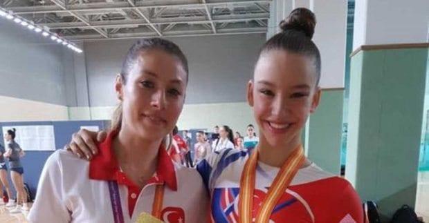 Ayşe Begüm Onbaşı Aerobik Jimnastik dünya şampiyonu