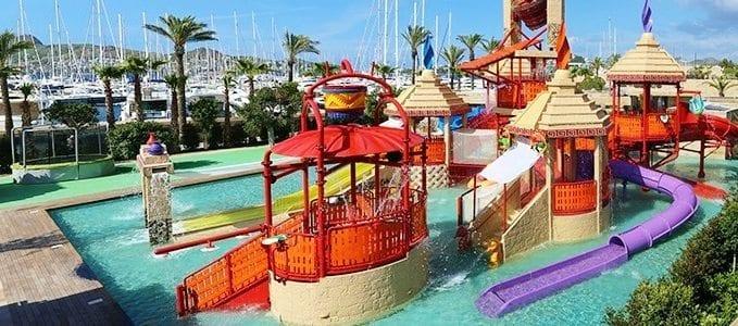 Bodrum'da eğlence: Kids Paradise palmarina aqua park