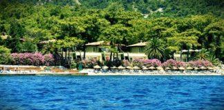 Cumhurbaşkanı Erdoğan'ın Marmaris'te konakladığı villa otel kompleksi