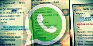 15 Temmuz akşamı albay binbaşı darbe girişiminde bulunan askerler Whatsapp üzerinden haberleşti. İşte soruşturma tutanaklara geçen o yazışmalar...