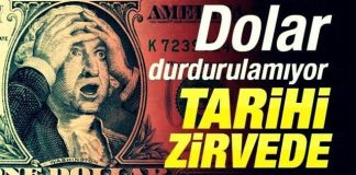 euro dolar yeni zirve