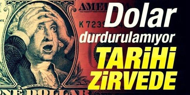 Dolar durdurulamıyor! S&P Türkiye'nin notunu düşürdü. Dolar/TL 3.0826 seviyesine ulaşarak tarihi rekor kırdı.