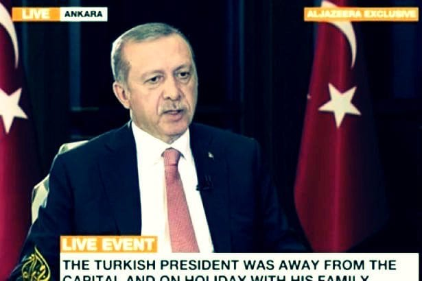 Erdoğan: Darbe girişimini eniştemden öğrendim