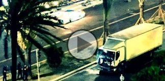 Video: Fransa Nice kamyonla terör saldırısı görüntüleri