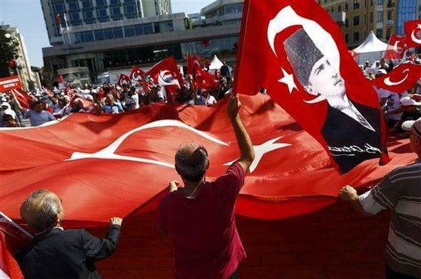 taksim meydanı chp cumhuriyet ve demokrasi mitingi ak parti akp