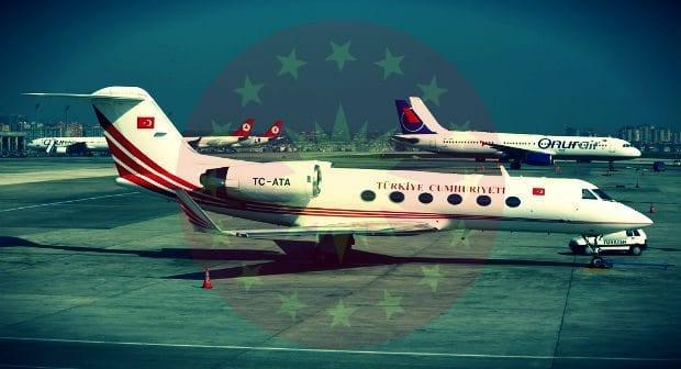 TC-ATA uçağı