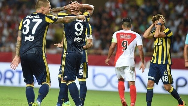 fenerbahçe monaco pereira avrupa uefa şampiyonlar ligi süper lig