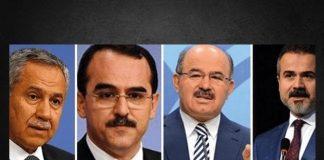 Arınç ve 3 eski bakana 'FETÖ yöneticiliği' suç duyurusu