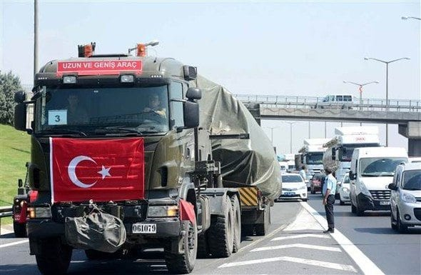 İstanbul'daki tanklar şehir dışına taşınıyor
