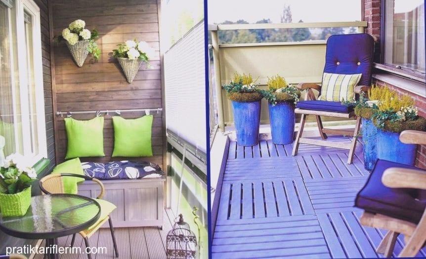 küçük balkon veranda tasarımı dekorasyonu