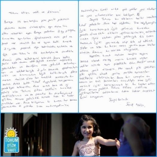 Otizmli bir çocuk annesinin duygusal mektubu