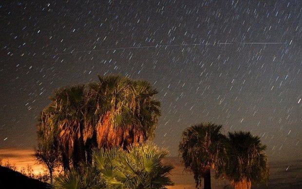 Perseid meteor yağmuru ile gece eşsiz bir görsel şölen