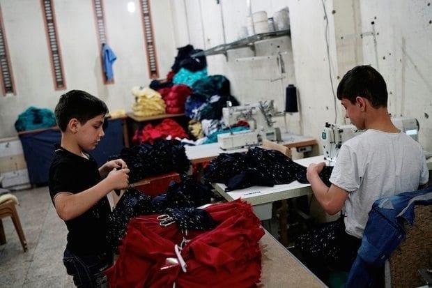 Reuters: Suriyeli çocuklar Günde 15 saat kayıt dışı çalıştırılıyorlar