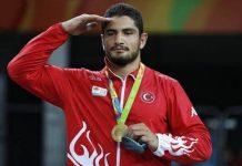 Rio Olimpiyatları: Taha Akgül'den Türkiye'ye altın madalya geldi
