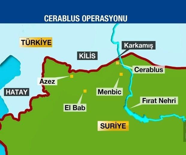 TSK, Suriye sınırında IŞİD ve PYD hedeflerini obüslerle vurdu