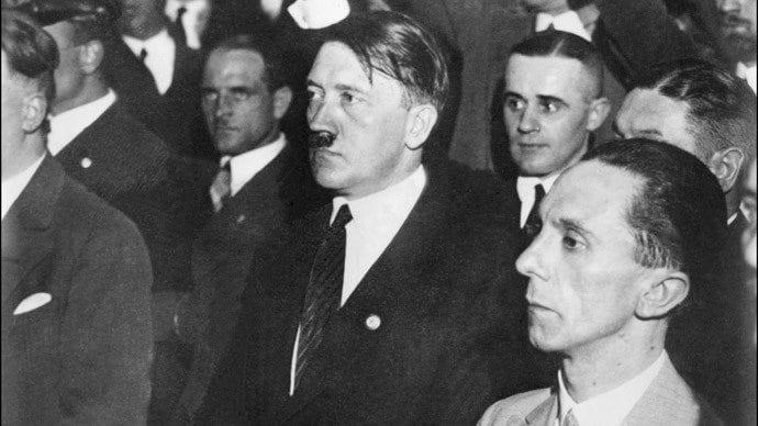 Hitler, Goebbels