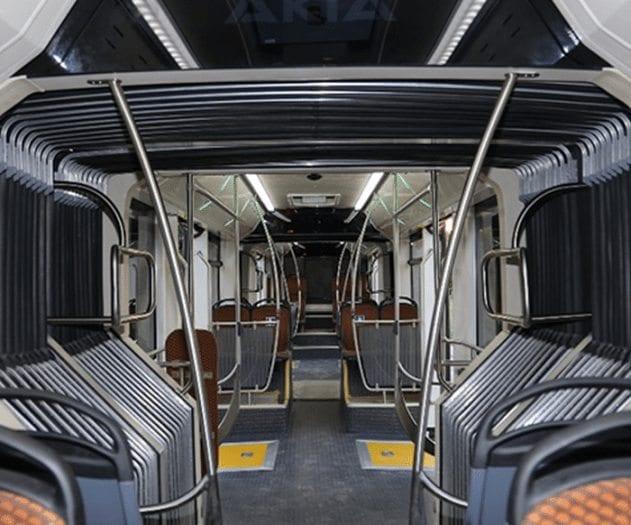 İstanbul'a 290 kişilik dev metrobüs