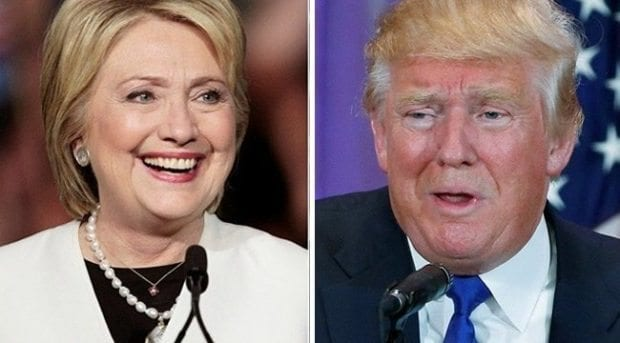 Donald Trump ve Hillary Clinton düellosunda son durum