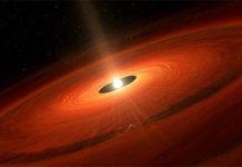 Dünyadan 176 milyon ışık yılı uzakta dev bir gezegen doğdu