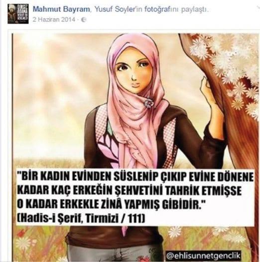 burdur milli eğitim müdürü mahmut bayram sözde hadis paylaşımı