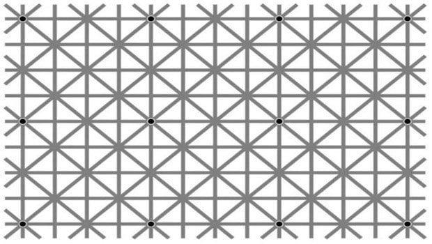 Bilim insanı Jacques Ninio'nun yarattığı optik illüzyon sosyal medyada'Resimde kaç nokta var?' sorusuna çokça farklı yanıt verilmesine neden oluyor.