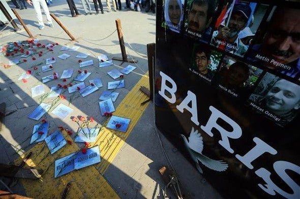 10 ekim ankara gar saldırısı yıldönümü anma polis gazla müdahale