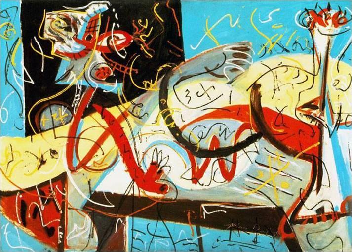 Stenografik Figür, 1942, MOMA, New York