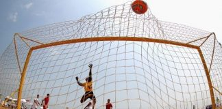 Plaj futbolu, kıtalararası şampiyonunu taçlandırmak üzere