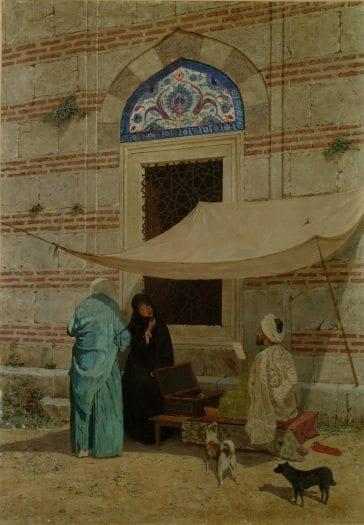Osman Hamdi Bey in arzuhalci tablosu