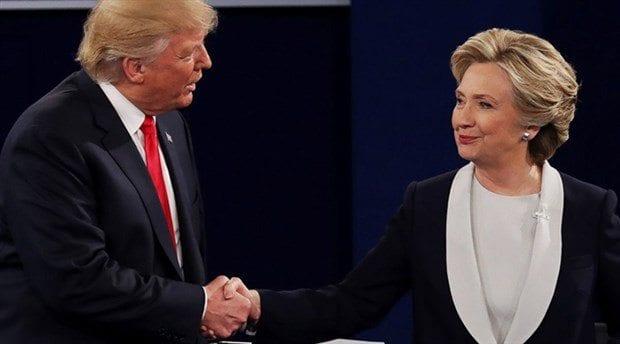 ABD final tartışması: Trump ve Clinton