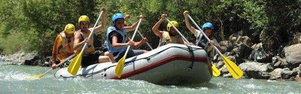 rafting su sporları yaralanma kaza akut