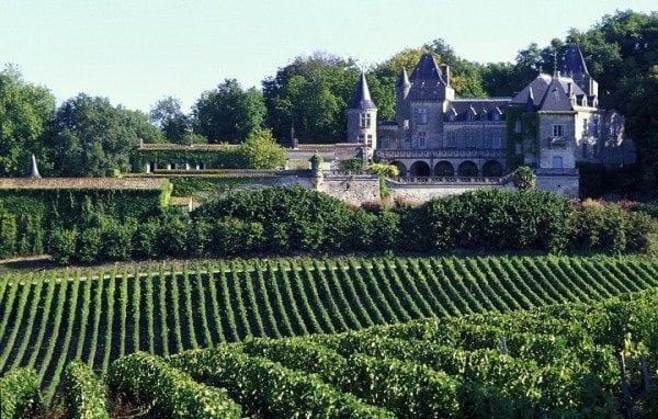 Bordeaux fransa şarap çiftlikleri üzüm bağları güney fransa