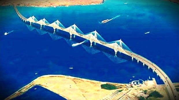 Çanakkale 1915 Köprüsü ile Batı Yol projesi 25 milyar TL'ye mal olacak
