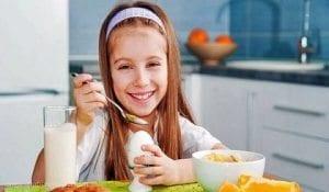 çocuklarda kahvaltı