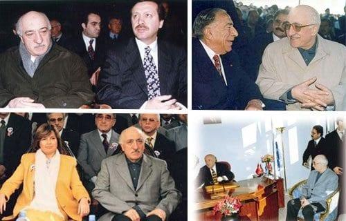 fethullah gülen erdoğan türkeş tansu çiller süleyman demirel