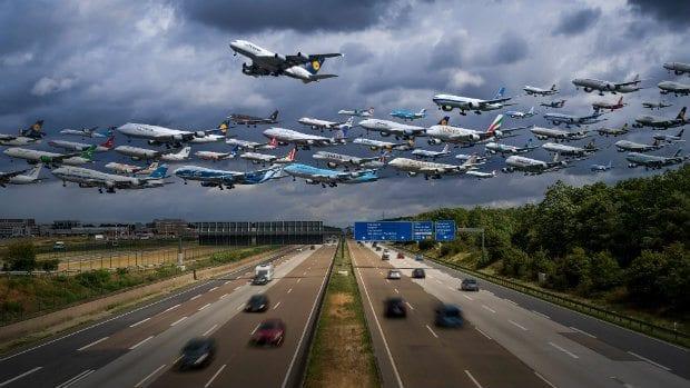 Hava trafiği, otomobil trafiği olsa ne olurdu?