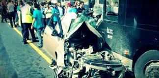 İstanbul Sefaköy'de metrobüs kazası