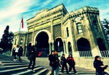 istanbul Üniversitesi'nde 'O halde karma eğitime son' kampanyası
