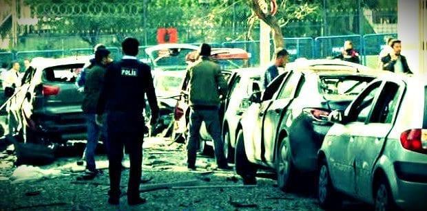 İstanbul Yenibosna'da bombalı motosiklet ile saldırı