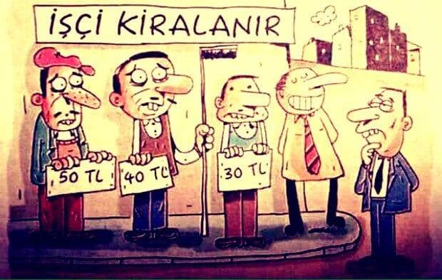 AKP iktidarının yeni uygulamasıyla kiralık işçi adı altında yeni bir işçi statüsüne daha kavuştuk. Türkiye'de yeni bir köle pazarı daha!..