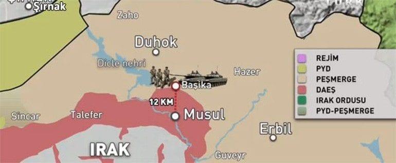 Musul'u DEAŞ ışid daeş operasyonu