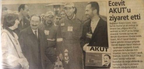 Akşam gazetesi 2002