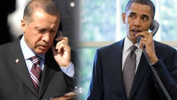 Obama ve Erdoğan IŞİD'le mücadeleyi görüştü