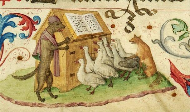 Ortaçağ'da hayvanın hukuki bir statüsü vardı.