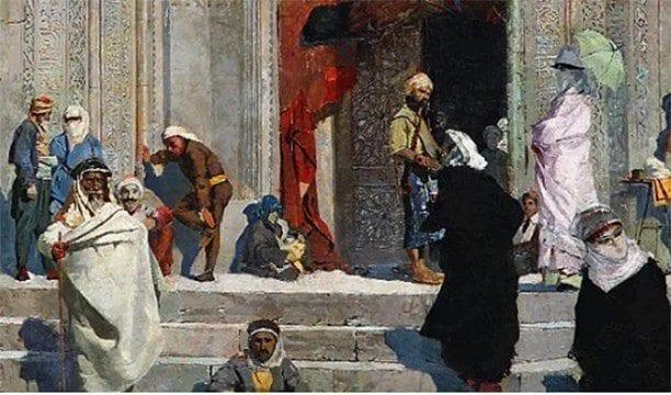 osman hamdi bey in yesil cami tablosu