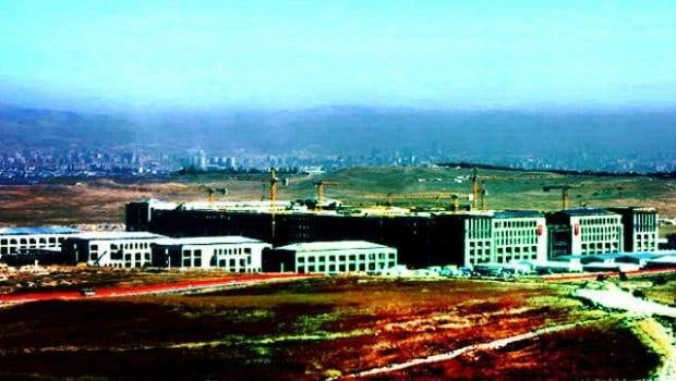 Pentagon modeli güvenlik karargahı Etimesgut'ta inşa edilecek