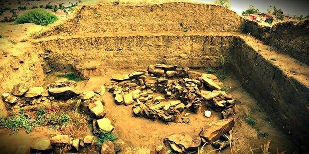 Silivri'de bulunan 5 bin yıllık kurgan tipi mezar sahipsiz kaldı!