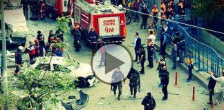 Video: İstanbul Yenibosna'da patlama sonrası ilk görüntüler