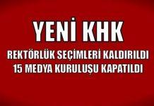 Yeni KHK ile rektörlük seçimleri kaldırıldı; 15 medya kuruluşu kapatıldı