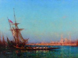 """Félix Ziem: """"Işık Denizinde Bir Gezgin"""" resim sergisi"""